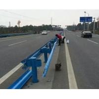 公路蓝色喷塑波形防?#19981;?#26639;板 波?#20301;?#26639;施工安装