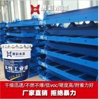 水性金属漆防锈漆钢结构专用漆钢模板漆孔雀蓝漆水性漆