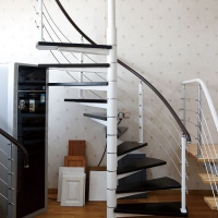 钢木楼梯-高升楼梯