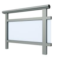铝合金栏杆型材 铝合金管材扶手 兴发铝业