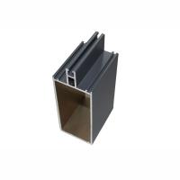 氟碳喷涂铝合金幕墙型材 6063t6