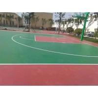 长春硅篮球场排球场网球场地面就选吉林吉盛优质低价诚信环保