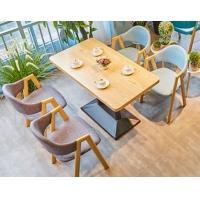 供应巴中 中餐厅 沙发茶几桌椅门 吧台三鑫家具定制。