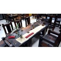 宁波船木原品家具 船木沙发 船木茶桌 船木餐桌 船木会议桌
