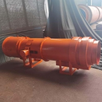福通KCS矿用湿式除尘风机高效节能