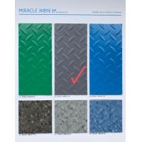 华艺洣若珂系列PVC塑胶地板 钢板纹防滑地板