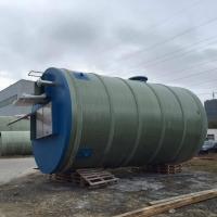 一体化地埋式预制我污水提升泵站