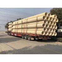 PVC-U加筋管硬质聚氯乙烯PVC-U波纹管道路排水管SN4