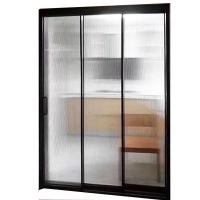 南京极窄夹丝边框玻璃移门-中空门厂家-伊利诺豪门