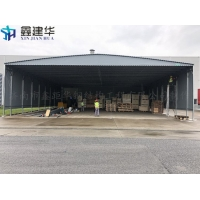 商河县鑫距华定做固定雨棚/物流公司装车篷
