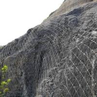遵义批量生产柔性山坡防护网、sns主动边坡防护网