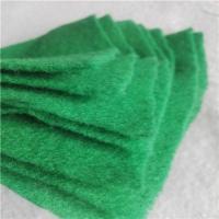 建筑工地防尘覆盖150克草绿色土工布