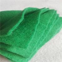 裸土防尘覆盖150克草绿色土工布