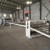 PE三层供挤板材设备,PE复合板生产线