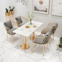 咖啡厅网红桌椅组合价格休闲吧小椅子批发中餐厅餐桌椅供应商