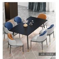 雪山白金餐桌图片轻奢家具品牌排行榜岩板餐桌椅定制批发厂家