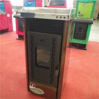 家用生物质颗粒壁炉  新能源生物质颗粒取暖设备
