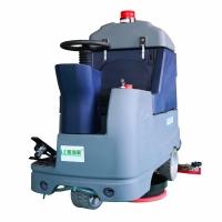 驾驶电动洗地机