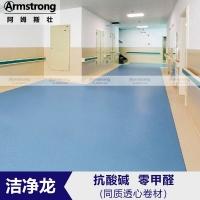 阿姆斯壮洁净龙同质透心pvc地板商用塑胶地板