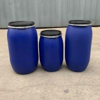 160升塑料桶160公斤蓝色塑料大桶