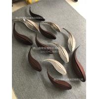 水景不锈钢抽象鱼雕塑多款式设计成品图