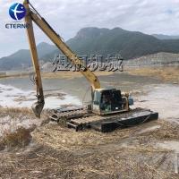 明暗渠清理水陆两栖挖掘机 履带式挖掘机 湿地挖掘机