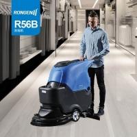 商场地下车库用手推式容恩全自动洗地机R56B