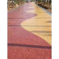 泰安 压模混凝土 彩色混凝土 压模混凝土 一次成型造价低