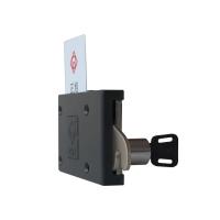 鐵柜插卡鎖(普通卡)一卡通系統專業配套用鎖