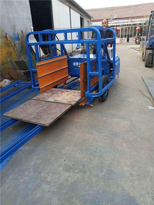 電動拉磚車 水泥磚電動叉車-- 山東沂南光昊模具廠家