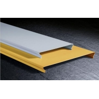 C100C150C200铝条扣长条天棚铝板C型6米长条铝扣板