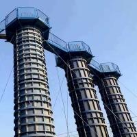橋梁高墩施工平臺 梯籠上下平臺