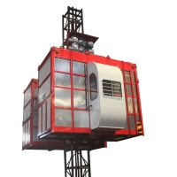 湖南施工升降機生產廠家中建建科牌物料提升機施工電梯