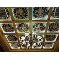 寺廟宗祠佛堂古建奢華別墅天花吊頂替代彩繪 佛事用品 古建彩繪