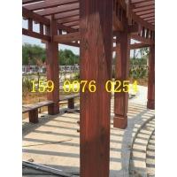 东莞木纹漆施工车库入口钢结构镀锌管仿木纹 全国施工 材料销售