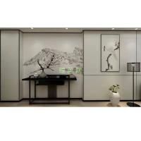 南京墙布布墙板-绿美居无缝壁画