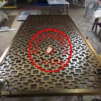 定制生产不锈钢屏风隔断花格
