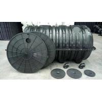 聚乙烯三格式化粪池生产