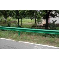 乡村公路波形护栏的施工