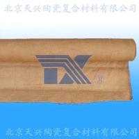 天兴 涂蛭石陶瓷纤维布 涂蛭石硅酸铝布 防火布 保温布