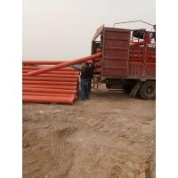 橘红色电缆电线穿线管cpvc电缆保护管