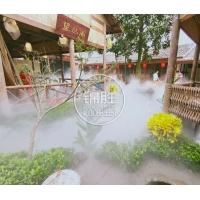 陕西景观造雾西安园林喷雾造景喷雾除尘降温雾森造雾设备