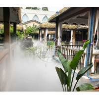 陕西池塘景观人造雾西安景观喷雾喷雾造景 园林水景喷雾