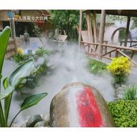 雕塑环形喷雾造景设备,喷雾设备锦胜雾森