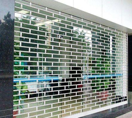 上海水晶卷帘门、水晶卷帘门