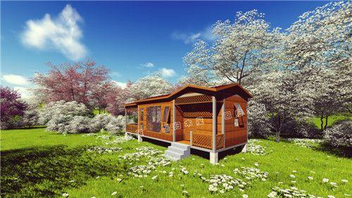吊装木别墅(1)