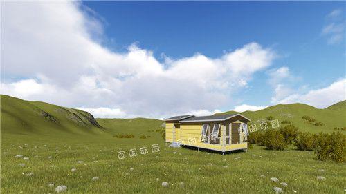 吊装木别墅(2)