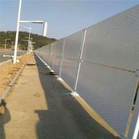 直供珠海专用冲孔板 市政道路两侧施工围挡 冲孔板护栏图片