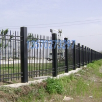 珠海4S店外墻通透式護欄 汕頭新型鋅鋼柵欄價格