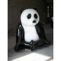 大型戶外玻璃鋼雕塑 功夫熊貓雕塑